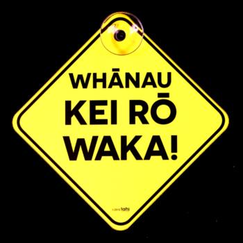 whanau kei ro waka